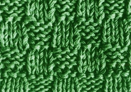 Як зв'язати чоловічий шарф спицями - 3