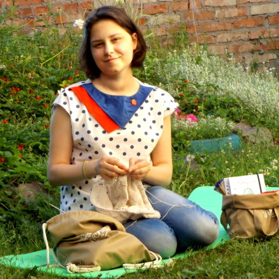 Євгенія Волощенко, редактор українського порталу про В'язання KnittingBlog.com.ua