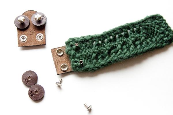Як зв'язати браслет спицями - 10