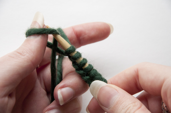 Як зв'язати браслет спицями - 2