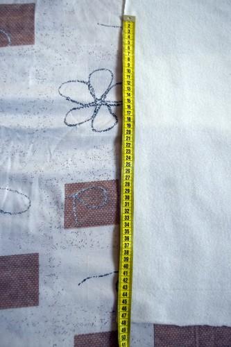 Як викроїти і вшити підкладку із флісу у в'язану шапочку з вушками - 6