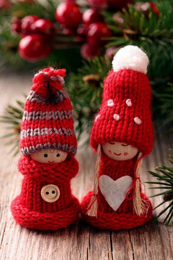 В'язані дрібнички - атрибут Нового року та Різдва - 1