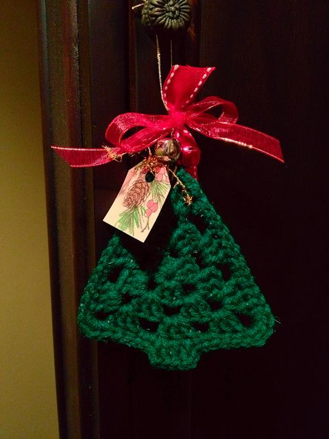 В'язані дрібнички - атрибут Нового року та Різдва - 13