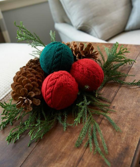 В'язані дрібнички - атрибут Нового року та Різдва - 20