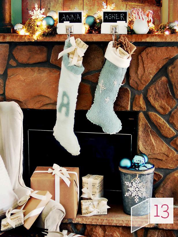 В'язані дрібнички - атрибут Нового року та Різдва - 21