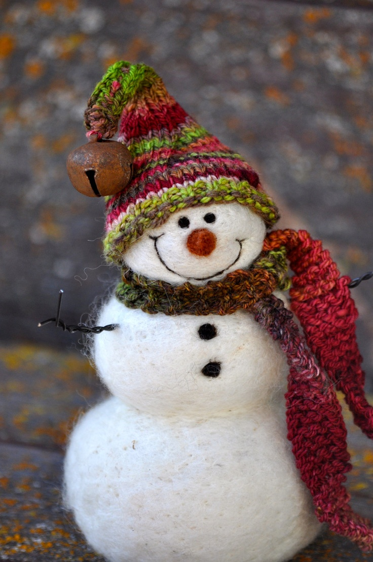 В'язані дрібнички - атрибут Нового року та Різдва - 24