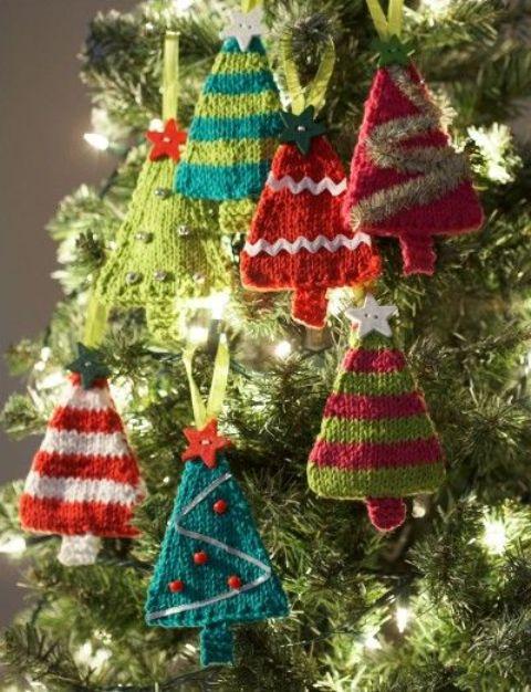 В'язані дрібнички - атрибут Нового року та Різдва - 4
