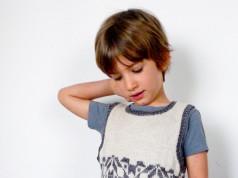 Жилетка (безрукавка) для хлопчика із жакардовим візерунком