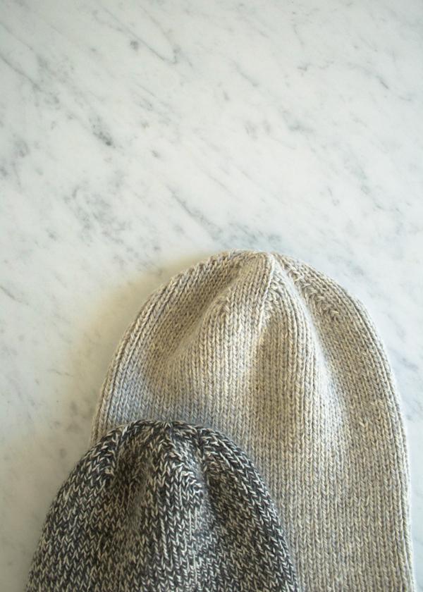 В'язана шапочка спицями для мужчинчиків - 5