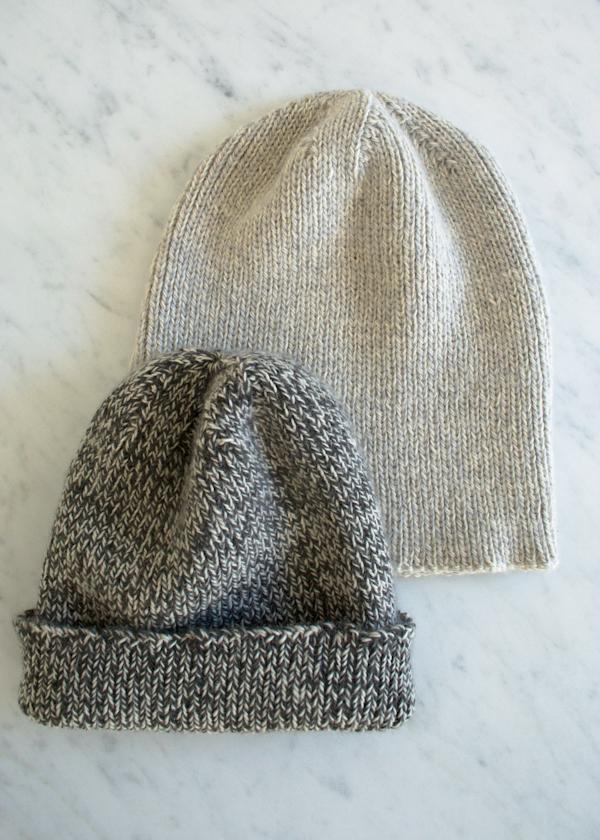 В'язана шапочка спицями для мужчинчиків - 3