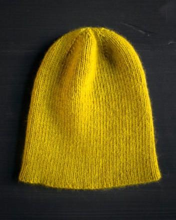 В'язана шапочка спицями для мужчинчиків - 7