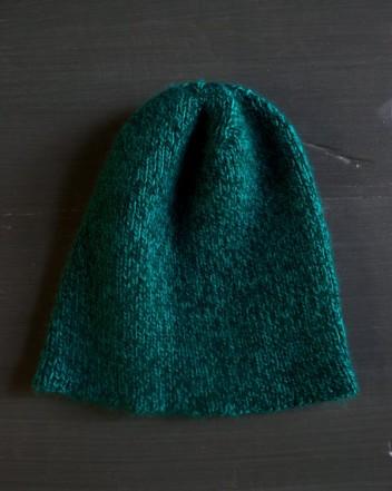 В'язана шапочка спицями для мужчинчиків - 8