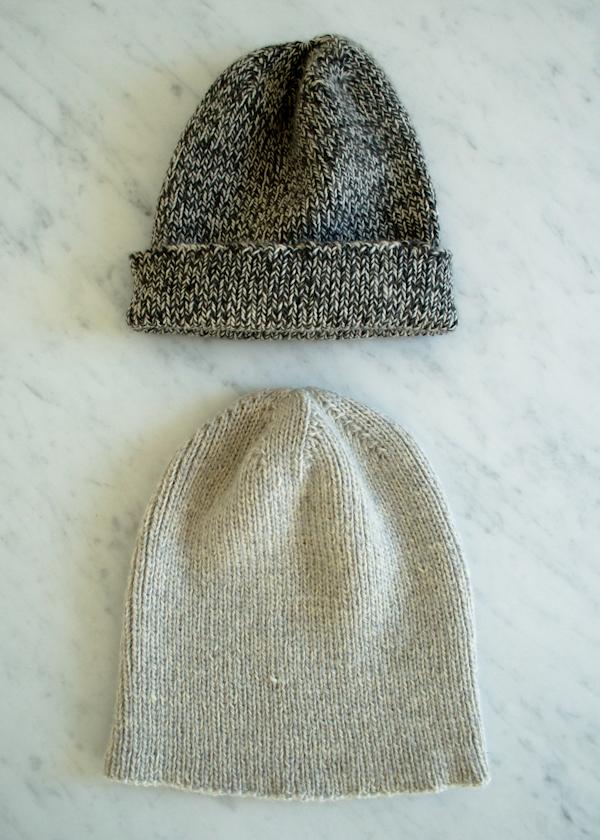 В'язана шапочка спицями для мужчинчиків - 9