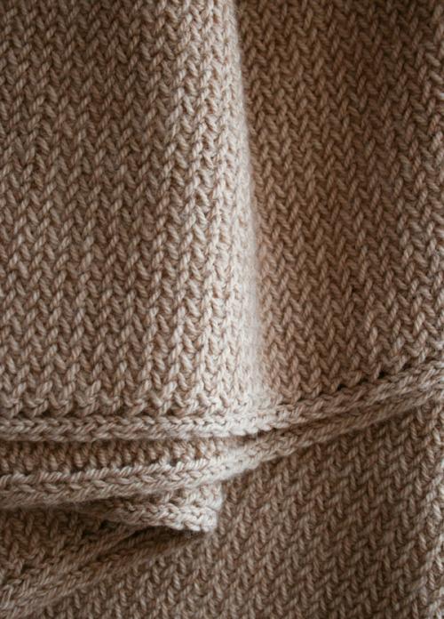 В'язаний чоловічий шарф спицями для початківців - 2