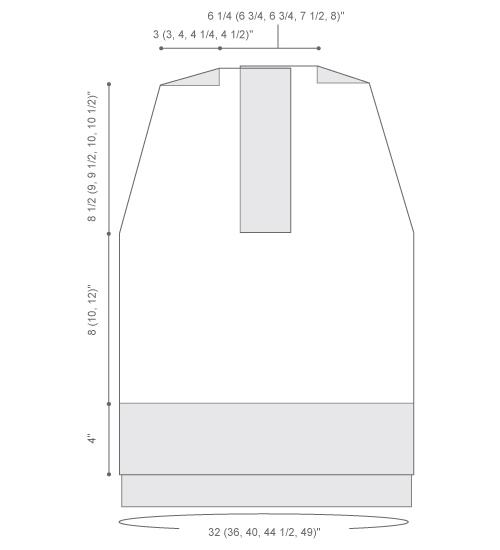 Жилетка-туніка спицями - 3