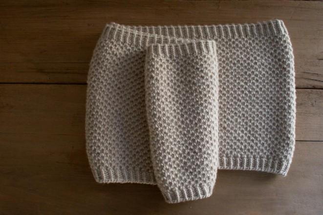 Простенький снуд (шарф-хомут) для початківців - 2