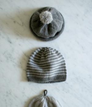 В'язані шапочки для малюка - 1