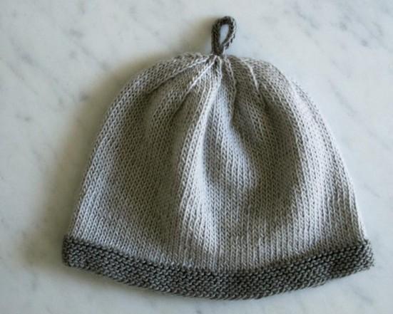 В'язані шапочки для малюка - 2