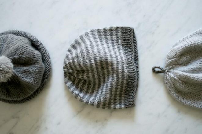 В'язані шапочки для малюка - 6