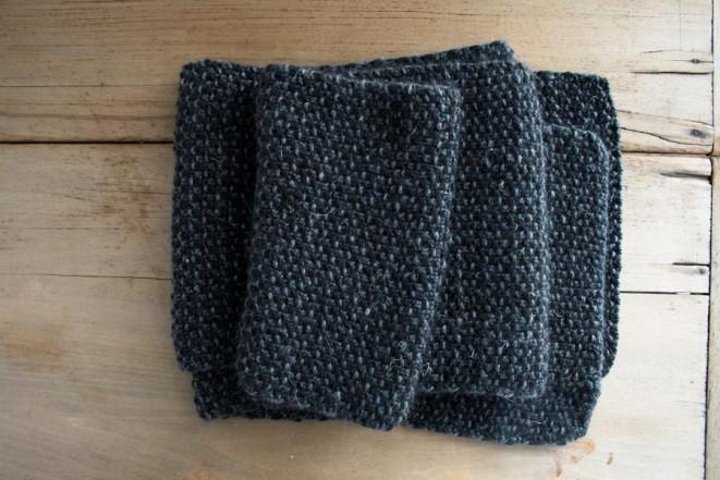 В'язаний простий шарф спицями для початківців - 3