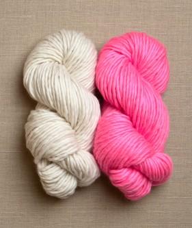 Пряжа для двохколірного шарфа - 1