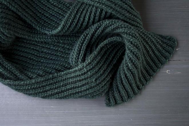 Простий універсальний шарф- 4