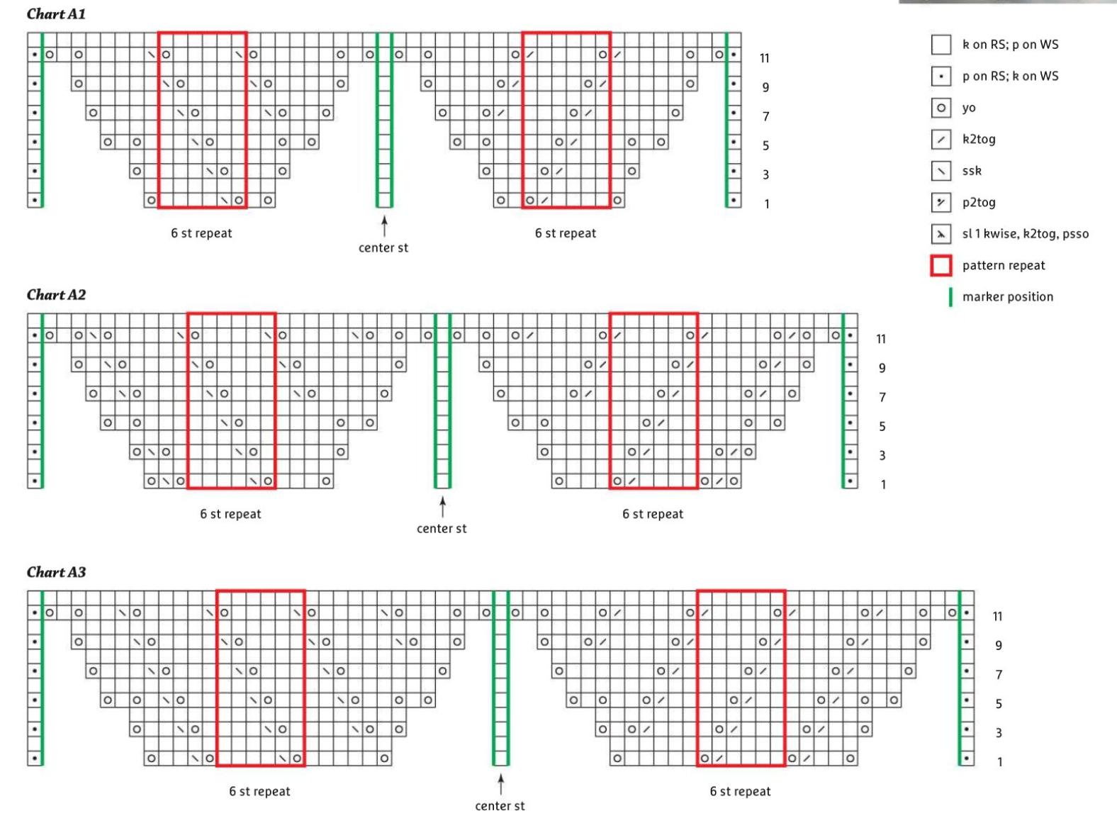 Схема ажурного бактуса - 1
