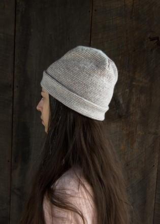 В'язана весняна шапочка - 3