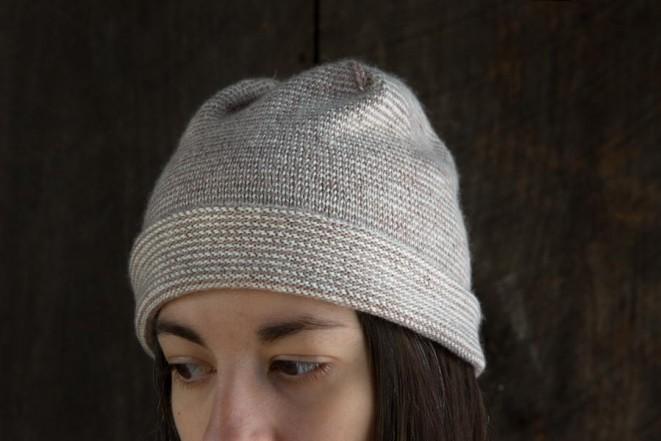 В'язана весняна шапочка - 6