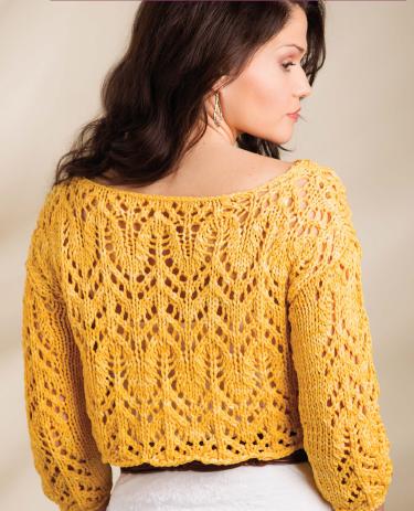 Ажурний пуловер - 2