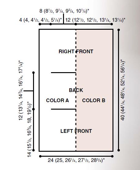 Асиметрична безрукавка спицями - 4