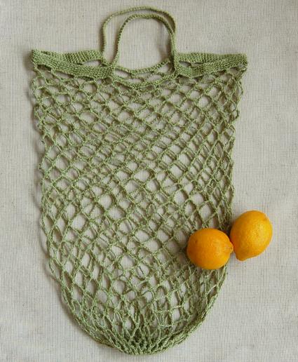 Літня сумка для закупів гачком - 13