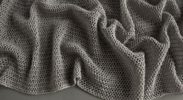 В'язаний літній шарф із лляної пряжі - 5