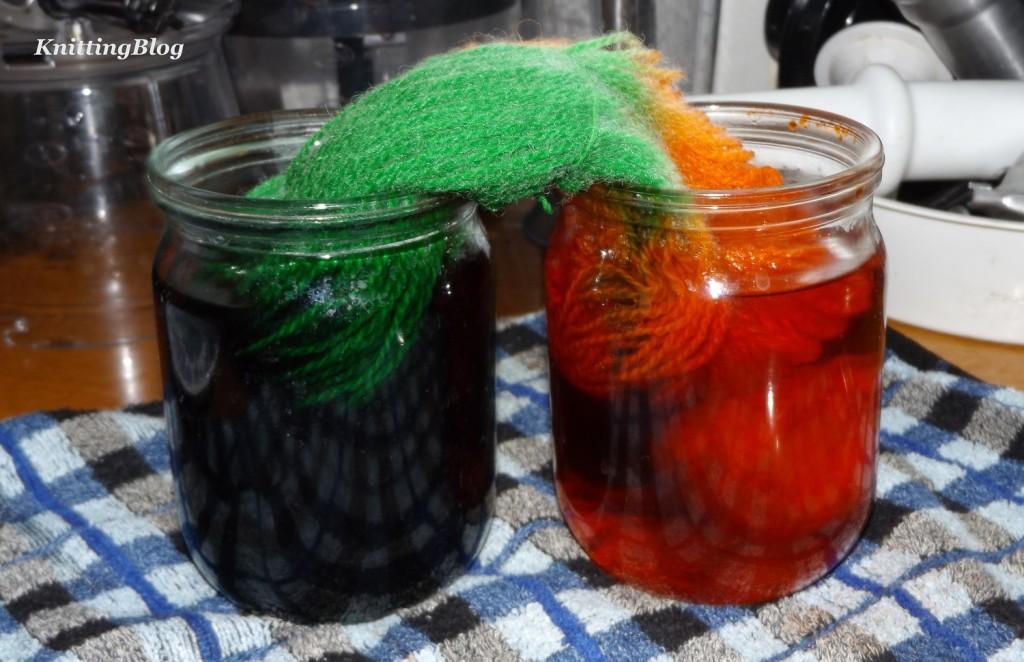 Фарбування пряжі Етно-натура в домашніх умовах МК (11)