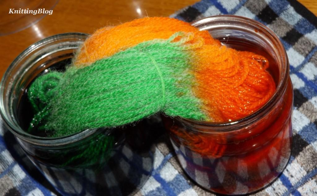 Фарбування пряжі Етно-натура в домашніх умовах МК (12)
