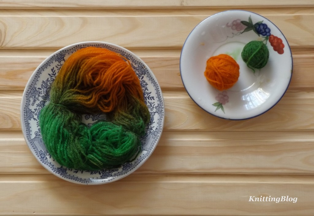 Фарбування пряжі Етно-натура в домашніх умовах МК (13)
