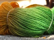 Фарбування пряжі Етно-натура в домашніх умовах МК (26)