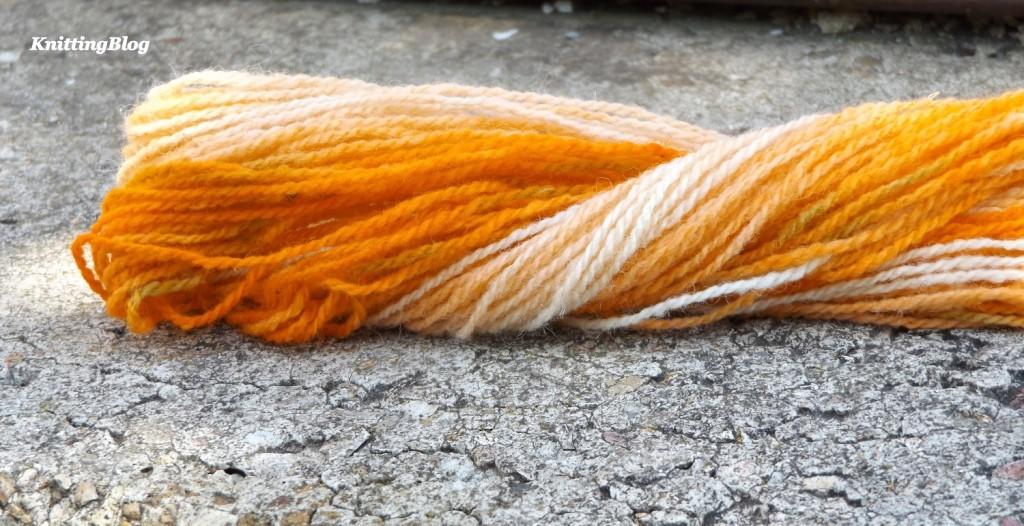 Фарбування пряжі Етно-натура в домашніх умовах МК (30)