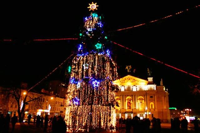 Щасливого Нового року та Різдва Христового